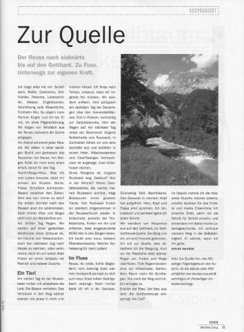 SPUREN_auf den Gotthard_sw